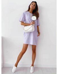 Šaty - kód 7236 - fialová