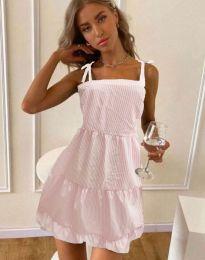 Šaty - kód 0316 - světle růžová
