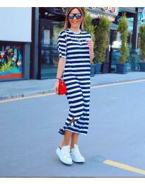 Šaty - kód 9910 - tmavě modrá