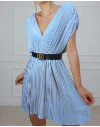 Šaty - kód 5670 - modrý