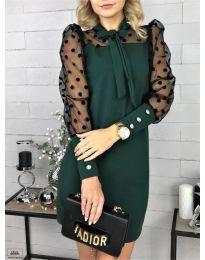 Šaty - kód 1081 - tmavě zelená