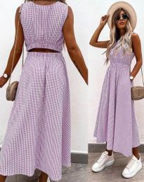 Šaty - kód 2687 - fialová