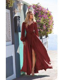 Šaty - kód 8477 - bordeaux