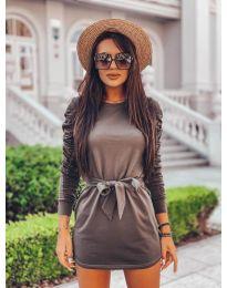 Šaty - kód 2529 - zelená