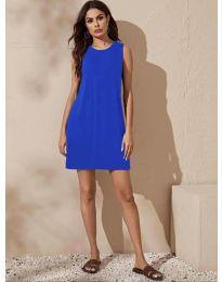 Šaty - kód 3075 - modrá