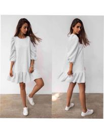 Šaty - kód 784 - bílá