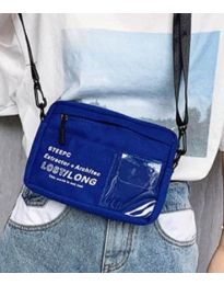 kabelka - kód B28-822 - modrá