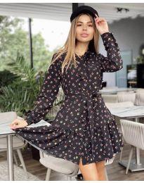 Šaty - kód 6555 - 2 - vícebarevné