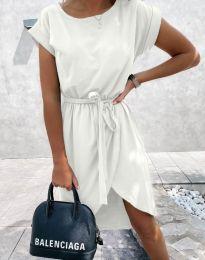 Šaty - kód 2074 - bílá