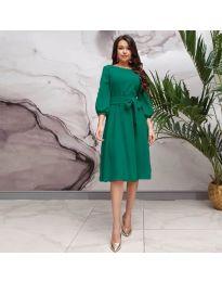Šaty - kód 4571 - zelená