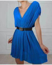 Šaty - kód 5670 - modrá