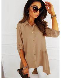 Košile - kód 5689 - cappuccino