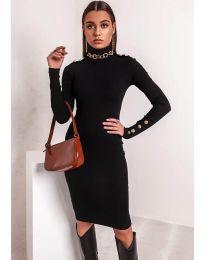 Šaty - kód 11513 - černá