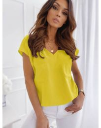Tričko - kód 920 - žlutá