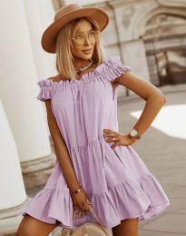 Šaty - kód 6969 - světle fialová