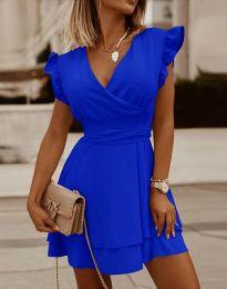Šaty - kód 5654 - modrá