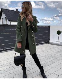 Kabát - kód 189 - olivová  zelená