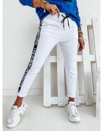 Kalhoty - kód 3062 - bílá