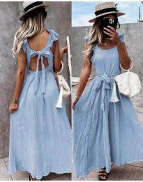 Šaty - kód 4806 - světle modrá