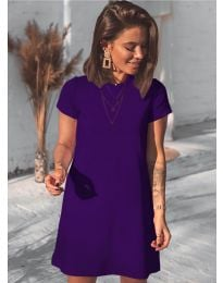 Šaty - kód 2299 - fialová