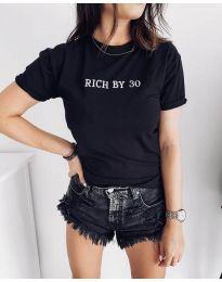Tričko - kód 951 - 1 - černá