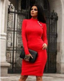 Šaty - kód 9768 - 1 - červená