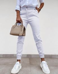 Kalhoty - kód 4464 - bílá
