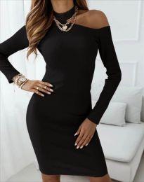 Šaty - kód 4859 - černá