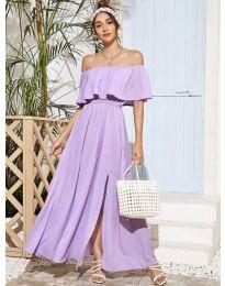 Šaty - kód 698 - fialová