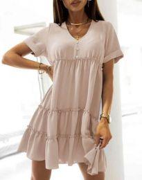 Šaty - kód 7205 - bežová