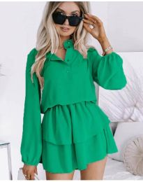 Šaty - kód 4093 - zelená