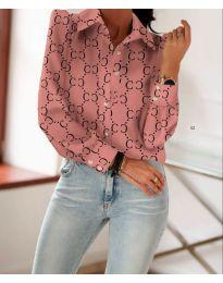 Košile - kód 653 - růžova