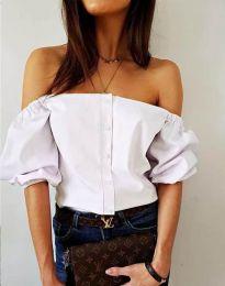 Košile - kód 3525 - bílá
