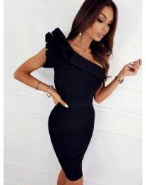 Šaty - kód 2049 - 2 - černá