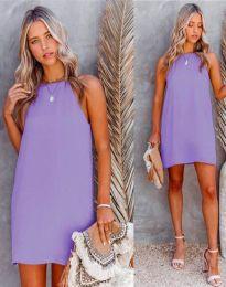 Šaty - kód 2169 - fialová