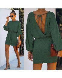 Šaty - kód 940 - olivová  zelená