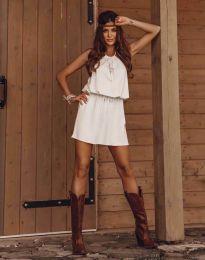 Šaty - kód 8399 - bílá