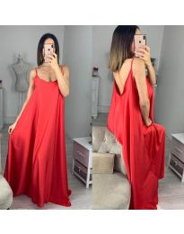 Šaty - kód 6600 - červená