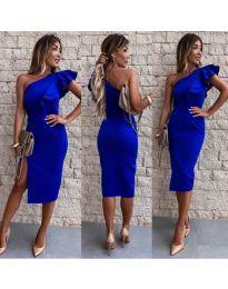 Šaty - kód 745 - modrá