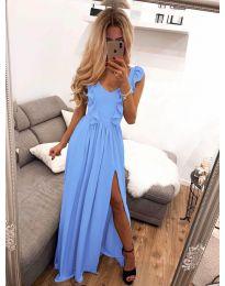 Šaty - kód 673 - modrý