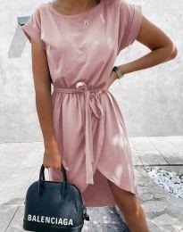 Šaty - kód 2074 - pudrová