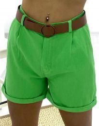 Krátké kalhoty - kód 2236 - 5 - zelená
