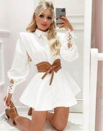 Šaty - kód 44589 - 2 - bílá