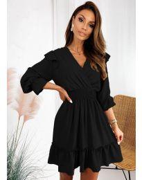 Šaty - kód 8554 - černá