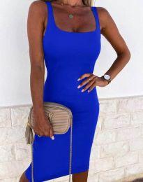 Šaty - kód 8899 - modrý