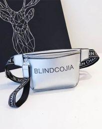 kabelka - kód B291 - stříbro