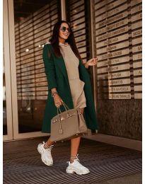 Kabát - kód 7555 - zelená