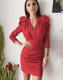 Šaty - kód 7937 - červená