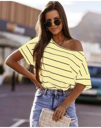 Tričko - kód 5865 - žlutá