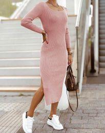 Šaty - kód 2326 - pudrová